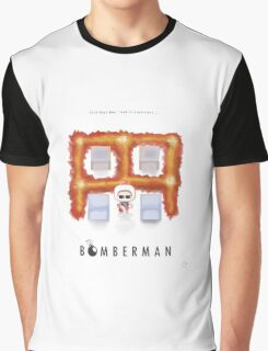 Bomberman Walk Away Graphic T-Shirt