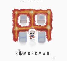 Bomberman Walk Away One Piece - Short Sleeve