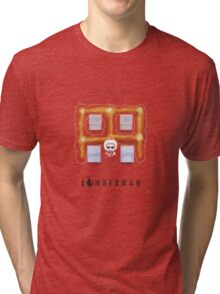 Bomberman Walk Away Tri-blend T-Shirt
