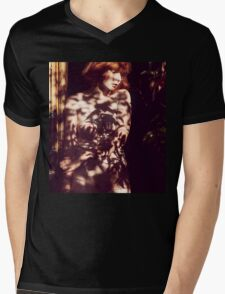 Surrounded - beautiful nude woman in nature, erotic art, fine fun retro awesome t-shirts T-Shirt