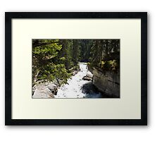 The Rush of the River 4 Framed Print