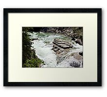 The Rush of the River 5 Framed Print