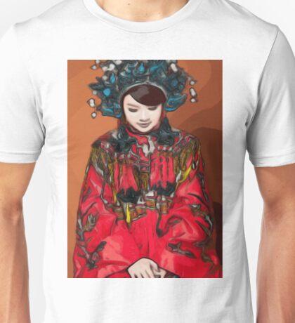 'Qing Phoenix' - Chinese Wedding Unisex T-Shirt