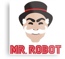 F-Society Mr Robot Metal Print