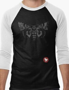 Max Caulfield - Moth (Mite) & Badge Men's Baseball ¾ T-Shirt