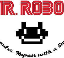 Mr. Robot logo by T J B