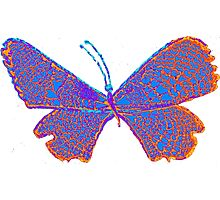 trippy butterfly Photographic Print