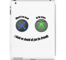 No need to be cross iPad Case/Skin
