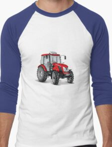 Tractor #2 Men's Baseball ¾ T-Shirt