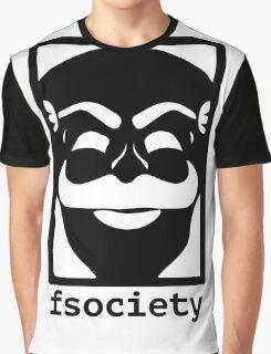 F-Society Mr Robot fsociety Graphic T-Shirt
