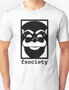 F-Society Mr Robot fsociety T-Shirt