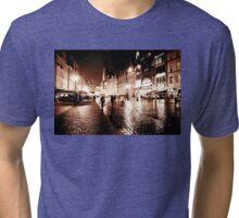 Wroclaw by night 3 Tri-blend T-Shirt