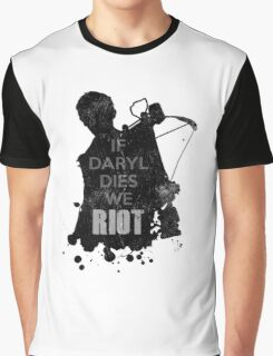 Daryl Dixon The Walking Dead Graphic T-Shirt