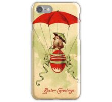 Vintage Easter Card iPhone Case/Skin