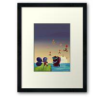 Balloon Trip Framed Print