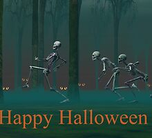 A Skeleton Halloween by Carol and Mike Werner