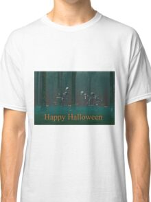 A Skeleton Halloween Classic T-Shirt