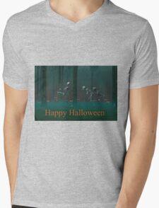 A Skeleton Halloween Mens V-Neck T-Shirt