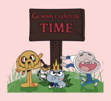 Gumballventure Time! Kids Tee