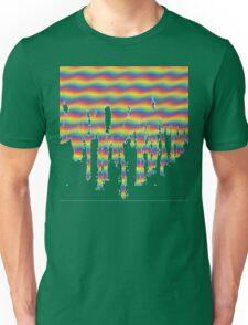 Psychedelic Paint Drip Unisex T-Shirt