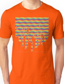 Psychedelic Paint Drip Unisex T-Shirt