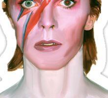 Aladdin Sane - David Bowie Painting Sticker