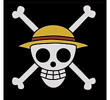 ONE PIECE - LUFFY FLAG  Photographic Print