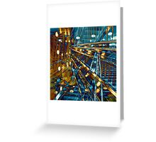 City Lines Greeting Card
