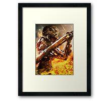 Metal Gear Rising Framed Print