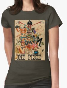 ONE PIECE - TEAM LUFFY (crewmate) Womens Fitted T-Shirt