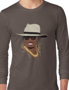Hip Hop Portrait 8 Long Sleeve T-Shirt