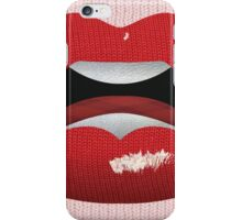 Kiss the Knit  iPhone Case/Skin