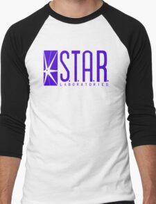 STAR Labs blue variant Men's Baseball ¾ T-Shirt