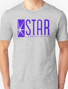 STAR Labs blue variant T-Shirt