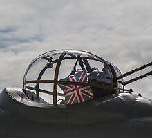 RAF Lancaster Turret Gun by captureasecond