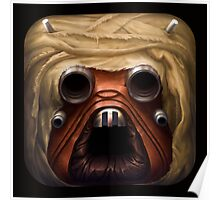 Faces of the Empire - Tusken Raider Poster