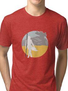 Star Wars- Rey on Jakku Tri-blend T-Shirt