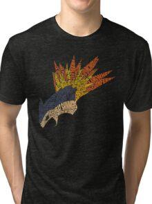 Pokemon - Typhlosion - Typography Tri-blend T-Shirt