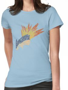 Pokemon - Typhlosion - Typography Womens Fitted T-Shirt