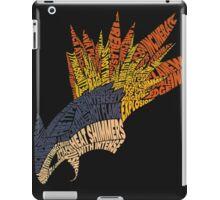 Pokemon - Typhlosion - Typography iPad Case/Skin