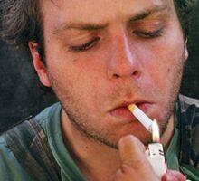 Mac DeMarco Smoking Sticker