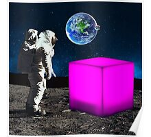 Cube from Space Poster
