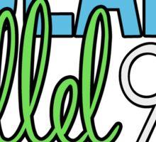 Tulane Hillel 912 Broadway Script Sticker