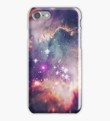 The Universe under the Microscope (Magellanic Cloud) iPhone Case/Skin
