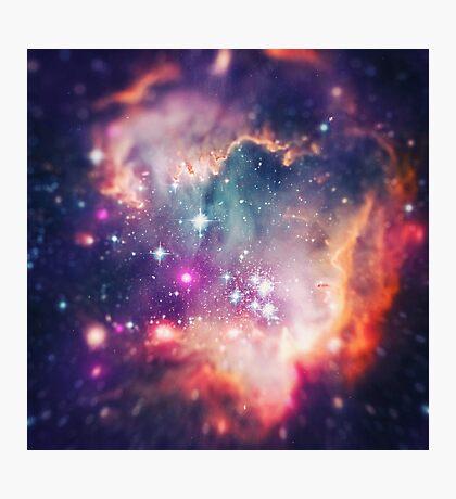 The Universe under the Microscope (Magellanic Cloud) Photographic Print