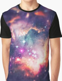 The Universe under the Microscope (Magellanic Cloud) Graphic T-Shirt