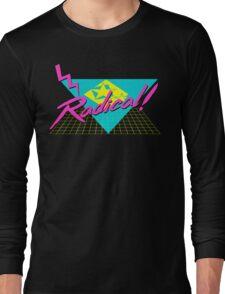 Radical 80s Retro T Shirt Long Sleeve T-Shirt