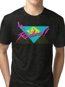 Radical 80s Retro T Shirt Tri-blend T-Shirt