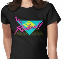 Radical 80s Retro T Shirt Womens Fitted T-Shirt