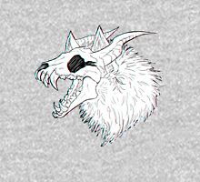 Skull Wolf Womens Fitted T-Shirt